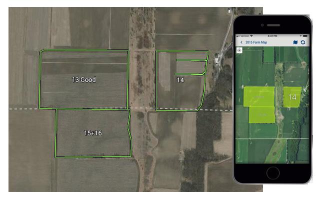 Картографування ферми Farmer Starter